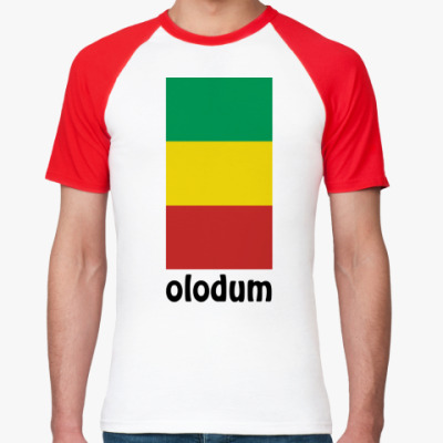 Футболка реглан  'Olodum'