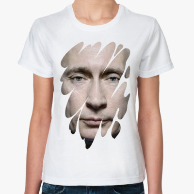 Классическая футболка Лик Путина