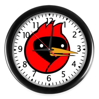 Настенные часы Омская птица