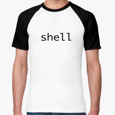 Футболка реглан Shell