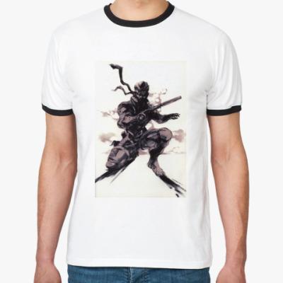 Футболка Ringer-T   Metal Gear