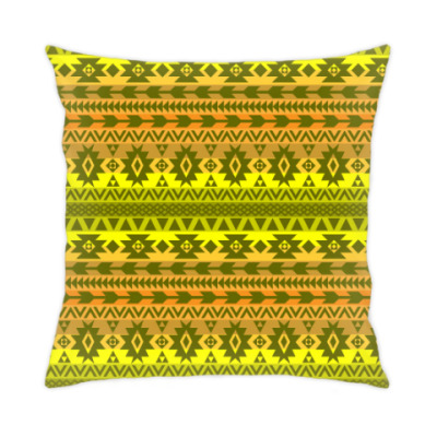 Подушка этнический орнамент