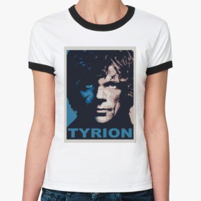 Женская футболка Ringer-T Тирион