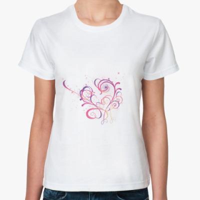 Классическая футболка СЕРДЦЕ