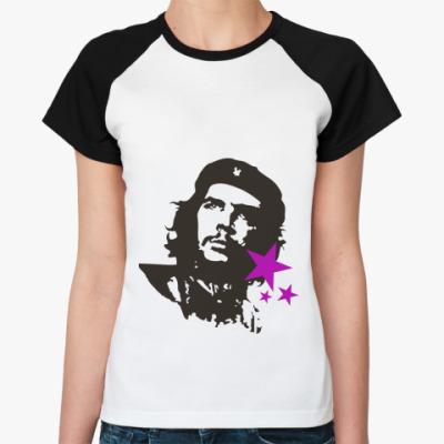 Женская футболка реглан Che Guevara