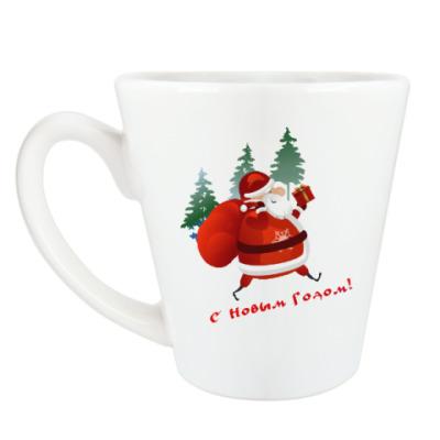 Чашка Латте Дед Moroz
