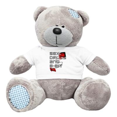 Плюшевый мишка Тедди 8-bit