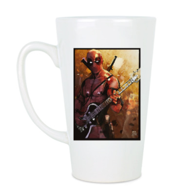 Чашка Латте Hell,yeah! Deadpool