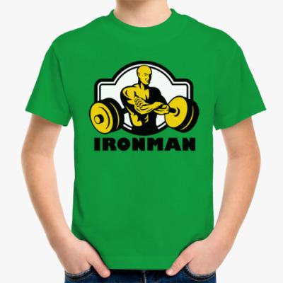 Детская футболка Ironman