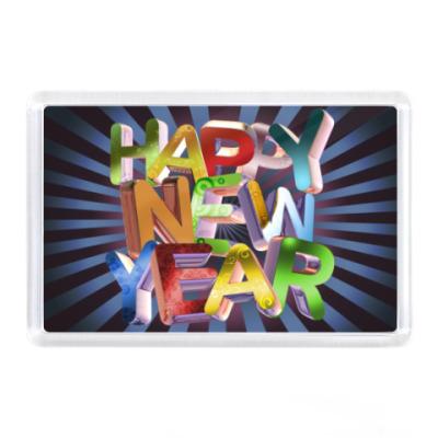 Магнит Happy New Year