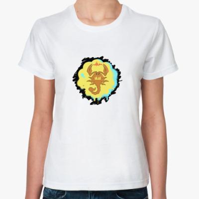 Классическая футболка Scorpio