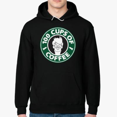 Толстовка худи Futurama coffee Starbucks