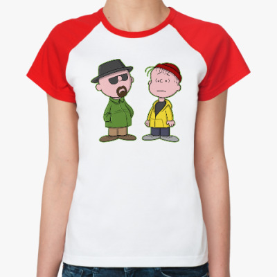 Женская футболка реглан Walter & Jesse
