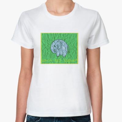 Классическая футболка футболка «why so sad?»