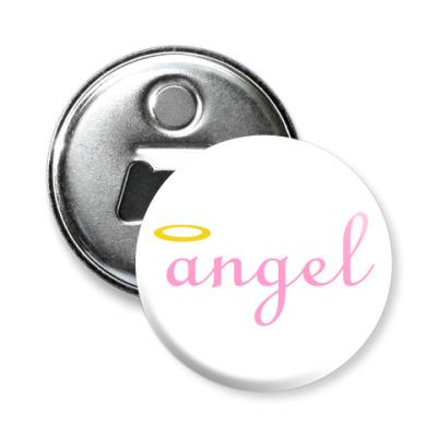 Магнит-открывашка Ангел