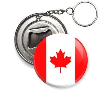 Брелок-открывашка Канада, Canada