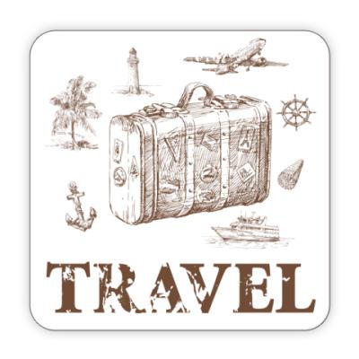 Костер (подставка под кружку) Для путешественника