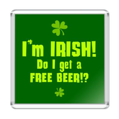 Магнит I'm Irish!