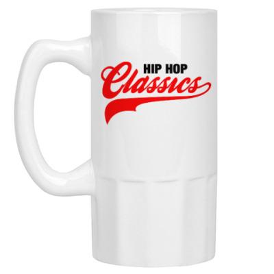 Пивная кружка Hip Hop Classics