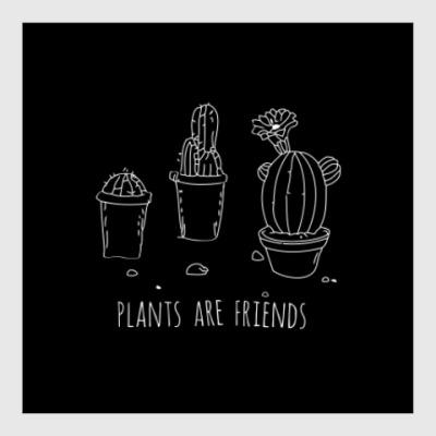 Постер Plants are friends