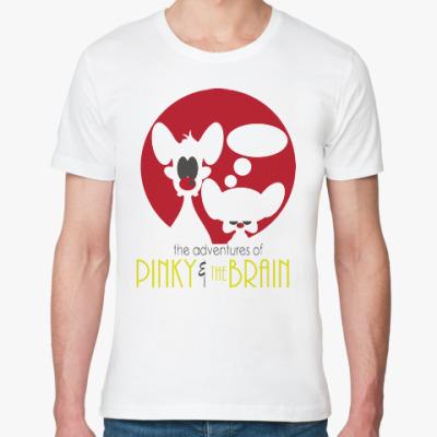 Футболка из органик-хлопка Приключения Пинки и Брэйна
