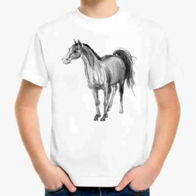 Детская футболка Лошадь