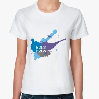 Классическая футболка spots logo winter