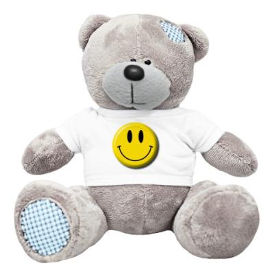 Плюшевый мишка Тедди smile!