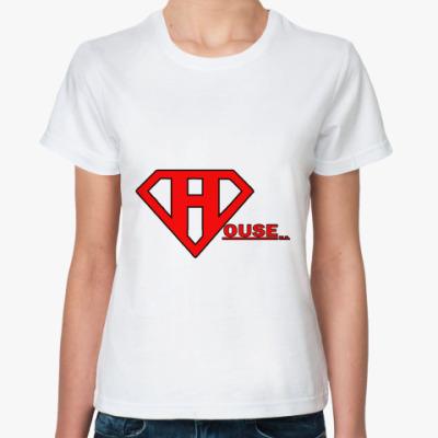 Классическая футболка SuperHouse