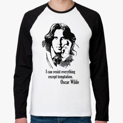 Футболка реглан с длинным рукавом Oscar Wilde