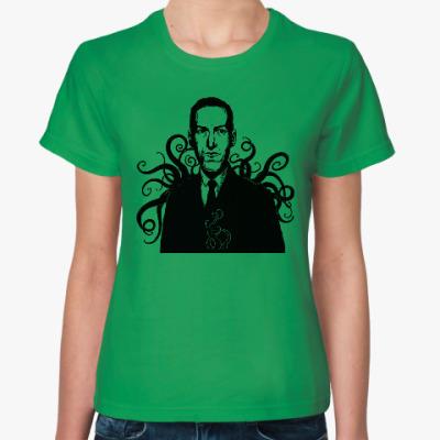 Женская футболка Лавкрафт