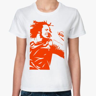Классическая футболка  Zack De La Rocha