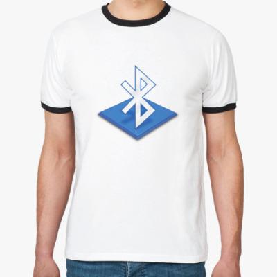 Футболка Ringer-T I support bluetooth