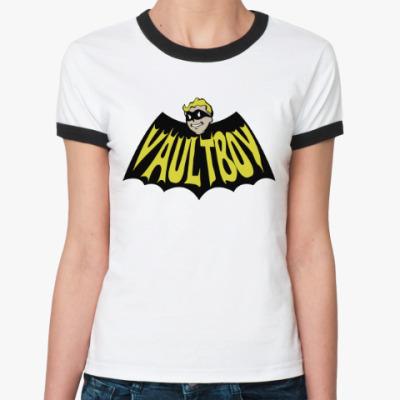 Женская футболка Ringer-T Fallout