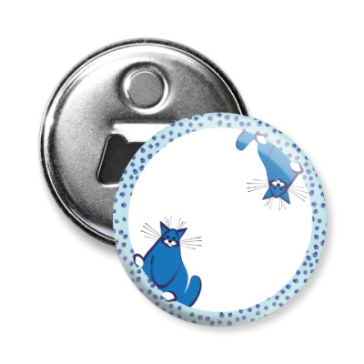 Магнит-открывашка котошар
