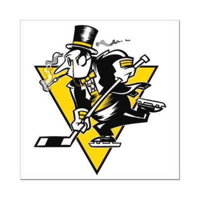 Наклейка (стикер) Go Penguins