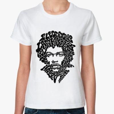 Классическая футболка Hendrix  songs Жен