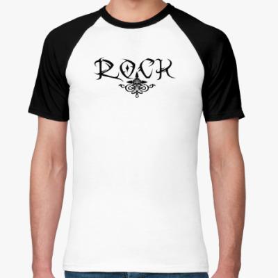 Футболка реглан rock