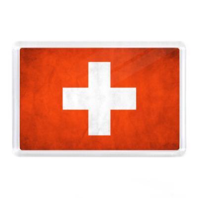 Магнит Флаг Швейцарии