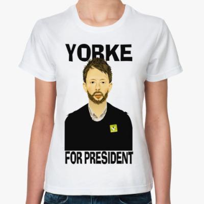 Классическая футболка Yorke