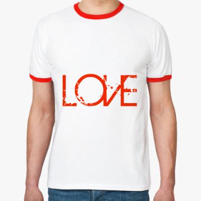 Футболка Ringer-T LOVE