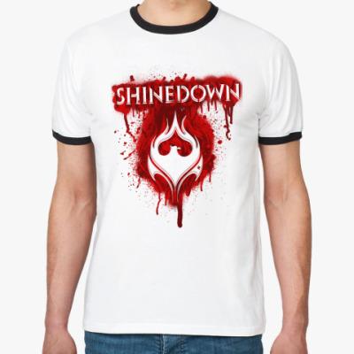 Футболка Ringer-T Shinedown
