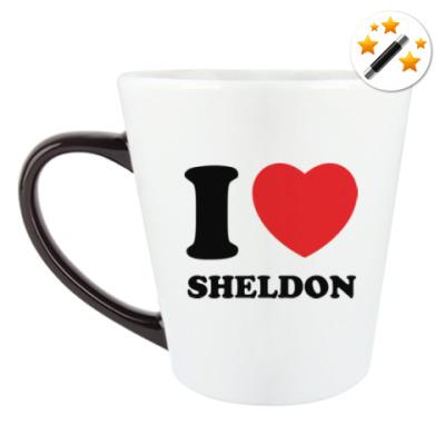 Кружка-хамелеон I Love Sheldon
