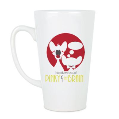 Чашка Латте Приключения Пинки и Брэйна