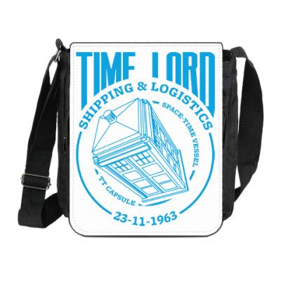 Сумка на плечо (мини-планшет) Time Lord