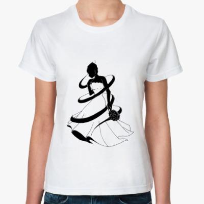 Классическая футболка для невесты