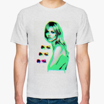 Футболка Kate Moss (neon menthol)