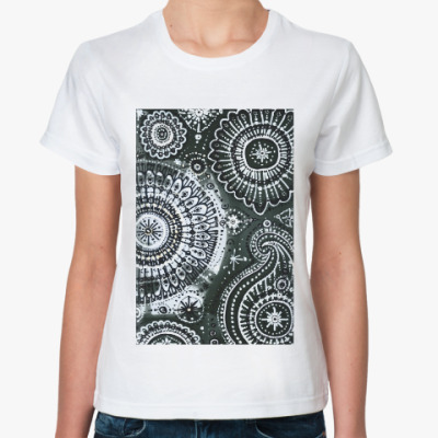 Классическая футболка Сказка ночью
