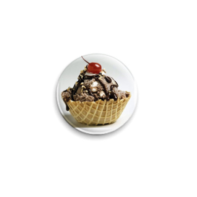Значок 25мм Десерт
