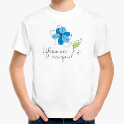 Детская футболка Цветок жизни